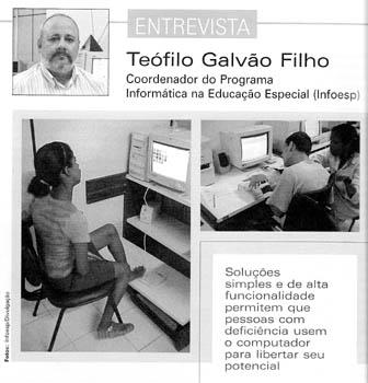Entrevista para a REVISTA CONHECIMENTO - ITS Brasil. Clique para ler.