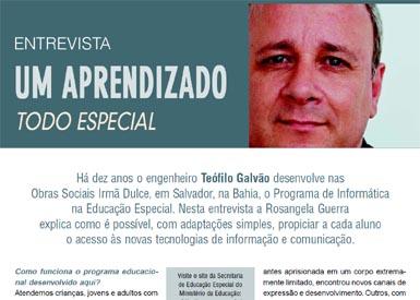 Entrevista para a Revista TV ESCOLA/MEC. Clique para ler.