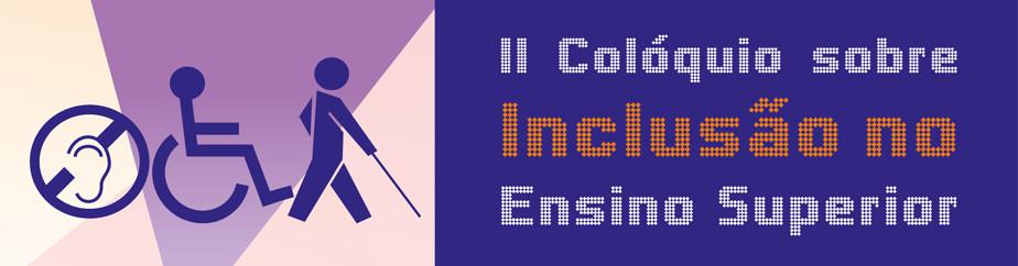 LOGO: II Colóquio sobre Inclusão no Ensino Superior