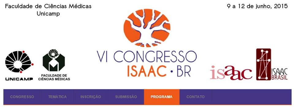 VI CONGRESSO BRASILEIRO DE COMUNICAÇÃO ALTERNATIVA - UNICAMP - de 9 a 12 de junho de 2015