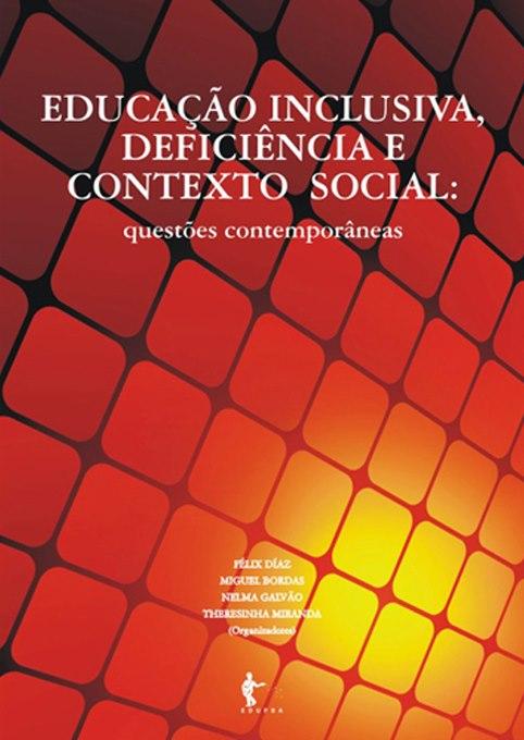 """Livro """"Educação inclusiva, deficiência e contexto social: questões ..."""